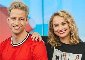 Milan Peroutka a Shopaholic Nicol jsou novými moderátory Snídaně s Novou.