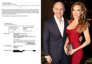 Manžel Andrey Verešové Daniel Volopich tvrdil, že klienty od exekucí na děti odrazoval. Pravda je ale podle všeho trochu jinde...