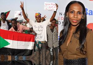 Prestižní súdánská novinářka Nima Elbagirová popsala dospívání pod Bašírovým diktátem.