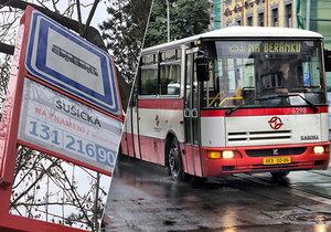 Budou v Praze všechny autobusové zastávky na znamení? Rozhodnutí o jejich zavedení se odkládá minimálně o rok. (ilustrační foto)