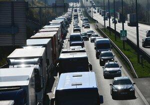 Další hrůza na D1: V Brně budou opravovat dálnici v obou směrech příštího půl roku!