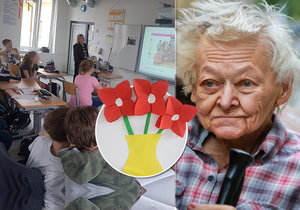 """Školáci své """"babičce"""" přispívají na asistenční péči."""