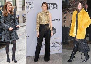 Slavní před a po: Komu výrazně pomohl zásah stylisty?