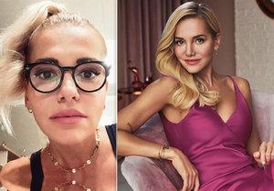 Dara Rolins přiznala, že nosí dioptrické brýle na čtení.