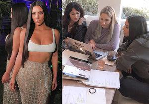 Internet a fanoušci v šoku! Kim Kardashianová mění povolání! Jejímu plánu neuvěříte
