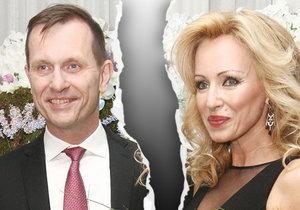 Kateřina Brožová a Jaromír Soukup se rozešli.