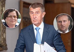 Babiš uvažuje o výměně ministra Kněžínka. Jednání s premiérem potvrdila bývalá ministryně Marie Benešová.