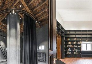 Ve vodárenské věži na Letné vzniká sousedská knihovna. Na zkoušku otevře v květnu