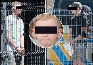 Dva únosce, kteří v úterý 16. dubna unesli za bílého dne pětiletou Sofinku, poslal Obvodní soud pro Prahu 10 do vazby.