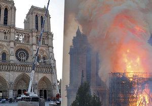 Většinu částí pařížské katedrály Notre-Dame se podařilo zabezpečit, a chrám je tak téměř zachráněn.