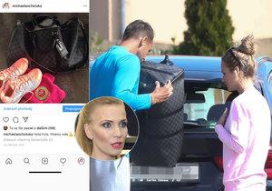 Rozvod Míši Ochotské a Lukáše Rosola: Válka o kabelku přímo na ulici!