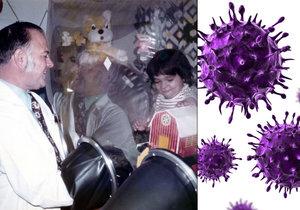 """""""Bublinové"""" děti bez imunity: Doktoři našli šokující léčbu, virus HIV"""