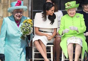 Meghan nepřišla popřát královně.