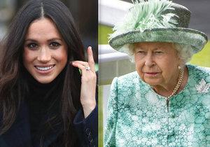 Královna je vzteky bez sebe! Meghan chce oznámit příchod miminka v hollywoodském stylu!