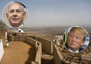 Izraelský premiér Benjamin Netanjahu chce pojmenovat nové městečko na Golanských výšinách po americkém prezidentovi Donaldu Trumpovi. Má to být výraz vděku za to, že Trump uznal svrchovanost Izraele nad tímto strategicky významným územím.