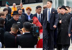 Severokorejský vůdce Kim Čong-un dorazil do Vladivostoku, (24.04.2019).