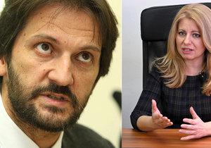 Vystrašená Čaputová chce vyměnit ochranku. Nevěří bodyguardům od ministra vnitra