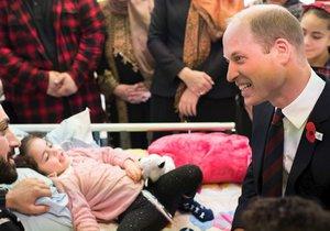 Holčička (5) se probrala z kómatu: Na posteli seděl princ William! Svět pláče dojetím...