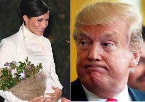 Vévodkyni Meghan dohání minulost: Kvůli Trumpovi vyhrožovala odstěhováním, teď se možná potkají!
