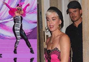 Katy Perryová je těhotná?! Čeká podezřele zakulacená zpěvačka dítě s »Pirátem« Bloomem?