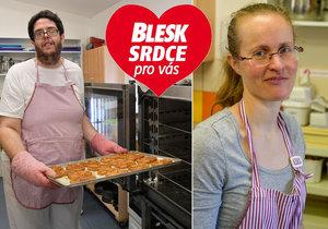 Postižení Láďa (32) a Soňa (36) z Rychnovska: V pekárně našli práci i lásku