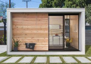 Prefabrikovaný domek, který snadno přizbůsobíte svým potřebám