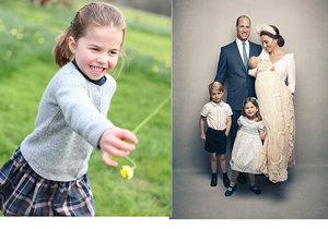 Kate zveřejnila nové fotografie dcery Charlotte.