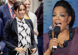 Oprah se postavila za vévodkyni: Je dobře, že Meghan porušuje protokol, říká Američanka