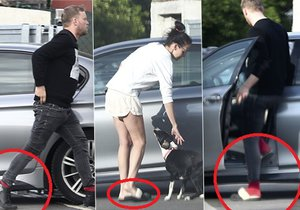 Jakub a Agáta si vyměnili papuče.