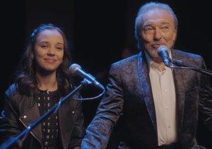 Nový hit Karla Gotta i s dojemným klipem: dárek dceři Charlottě k 13. narozeninám!