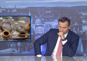 Šéf TV Barrandov a moderátor v jedné osobě Jaromír Soukup a problematický příspěvek