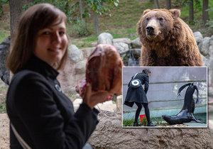 Ošetřovatelkou v zoo na vlastní kůži: Sprcha od lachtana i oběť pro surikaty