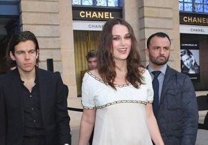 Keira Knightleyová je podruhé těhotná!