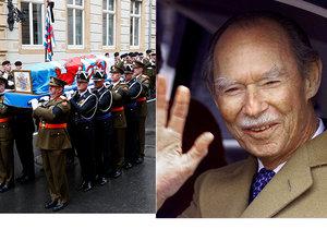 Lucembursko se rozloučilo s oblíbeným velkovévodou Jeanem