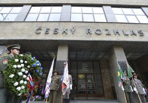 5. květen 2019: Před budovou Českého rozhlasu se konala tradiční pietní akce ku příležitosti vypuknutí Květnového povstání českého lidu proti nacismu.