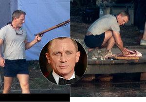 Protřepat, vykuchat! První fotografie z natáčení nového Jamese Bonda