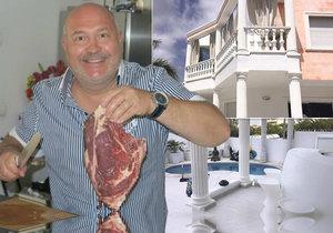 Druhý domov Michala Davida je na Tenerife.