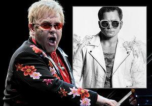 Elton John se rozloučí s Prahou a na konci května vstoupí do kin film o něm.