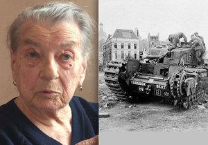 Zdena Dufková (84) z Kyjova si události z 2. světové války pamatuje, jako by se staly včera.