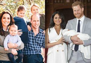 Dítě Harryho a Meghan už vydělává: 2,2, miliardy pro Británii! Na bratrance George ale nemá