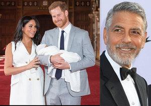 George Clooney se odmítá stát kmotrem Archieho! Proč z toho velký kamarád Meghan vycouval?