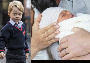 Malý princ George provalil jméno svého nového bratrance už v lednu!