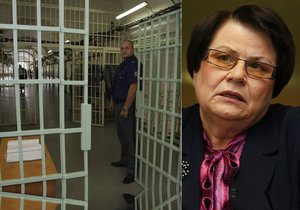 Ministryně spravedlnosti Marie Benešová chce řešit plné věznice v Česku