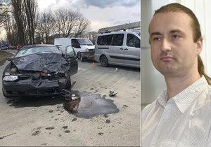 Opilec v autě zabil dvě děti: Josef dostal 8 let a musí zaplatit 4 miliony!