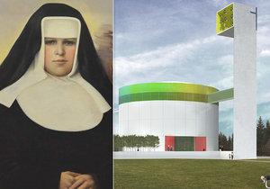 """První svatá z Brna?! Na Restitutě Kafkové """"pracuje"""" Vatikán, v Lesné jí staví kostel"""