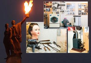 Plynárenské muzeum v Praze Michli je učiněné království nejvšemožnějších předmětů a spotřebičů, které fungovaly na bázi plynu.