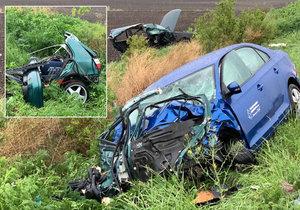 Na Olomoucku se srazila čtyři auta. Otřesné následky: Tři mrtví, pět zraněných. (Ilustrační foto)