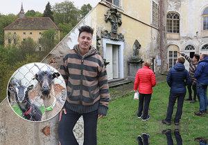 Blesk Zprávy navštívily Matěje Stropnického na jeho zámku v Osečanech