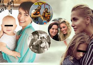 Jak oslavily svátek matek naše celebrity?