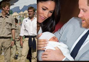 Proč dal Harry synovi jméno Archie? Pocta veliteli z Afghánistánu!